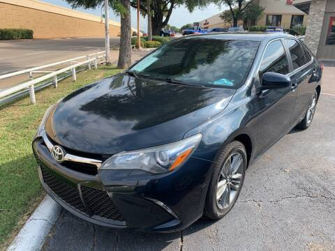 2015 Toyota Camry for sale at New Start Auto in Richardson TX