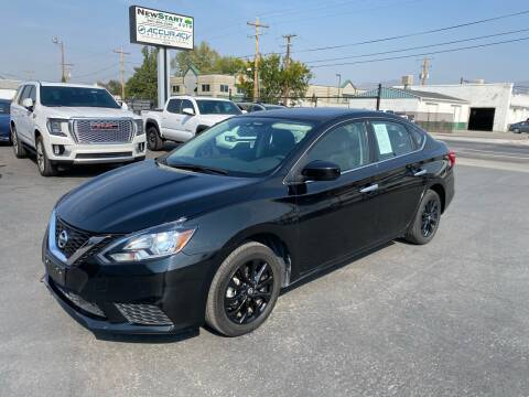 2018 Nissan Sentra for sale at New Start Auto in Richardson TX