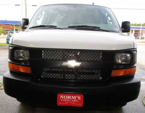 2016 Chevrolet Express Passenger for sale at Norm's Used Cars INC. - Trucks By Norm's in Wiscasset ME