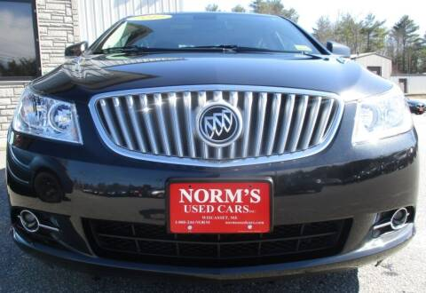 2012 Buick LaCrosse for sale at Norm's Used Cars INC. in Wiscasset ME