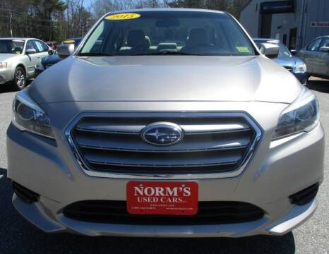 2015 Subaru Legacy for sale at Norm's Used Cars INC. in Wiscasset ME