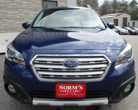 2015 Subaru Outback for sale at Norm's Used Cars INC. in Wiscasset ME