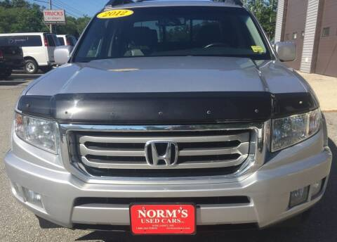 2012 Honda Ridgeline for sale at Norm's Used Cars INC. - Trucks By Norm's in Wiscasset ME