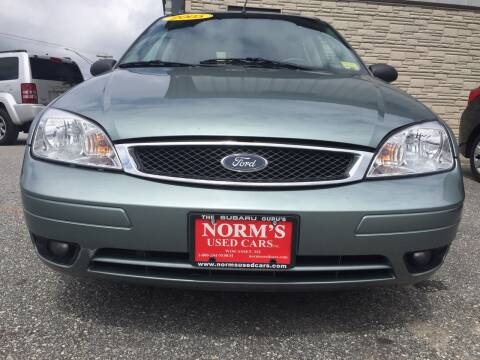 2005 Ford Focus for sale at Norm's Used Cars INC. in Wiscasset ME