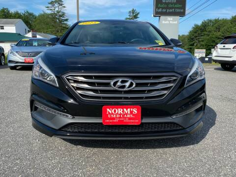 2015 Hyundai Sonata for sale at Norm's Used Cars INC. in Wiscasset ME