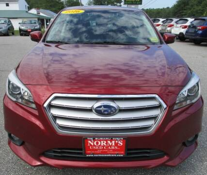 2016 Subaru Legacy for sale at Norm's Used Cars INC. in Wiscasset ME
