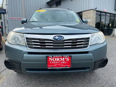 2009 Subaru Forester for sale at Norm's Used Cars INC. in Wiscasset ME