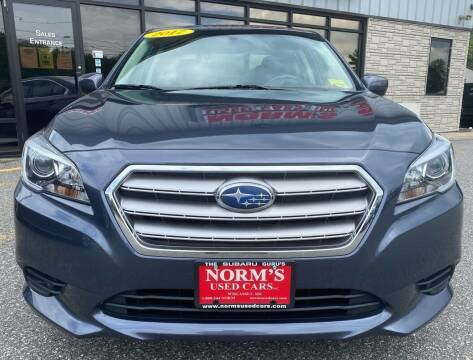 2017 Subaru Legacy for sale at Norm's Used Cars INC. in Wiscasset ME