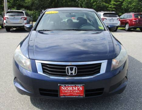 2009 Honda Accord for sale at Norm's Used Cars INC. in Wiscasset ME