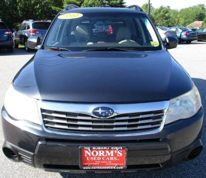 2010 Subaru Forester for sale at Norm's Used Cars INC. in Wiscasset ME