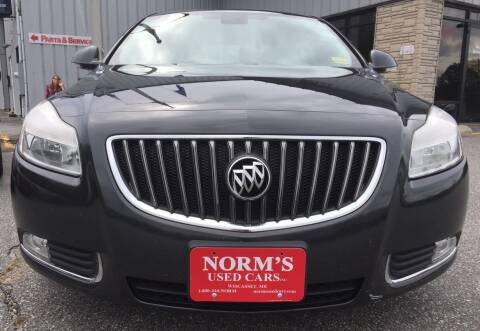 2012 Buick Regal for sale at Norm's Used Cars INC. in Wiscasset ME