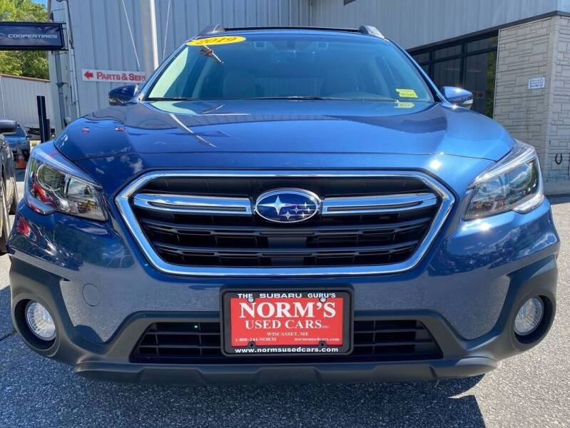2019 Subaru Outback for sale at Norm's Used Cars INC. in Wiscasset ME