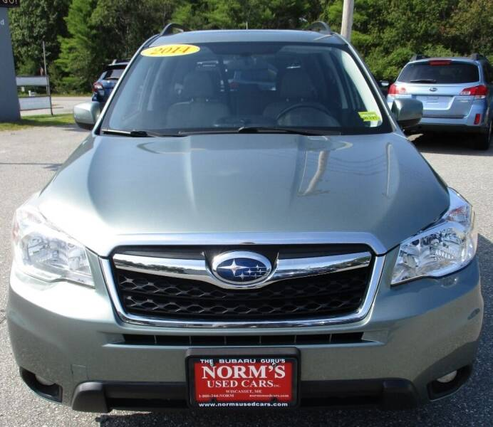 2014 Subaru Forester for sale at Norm's Used Cars INC. in Wiscasset ME