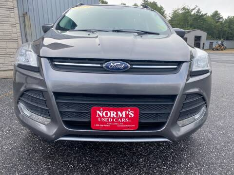 2014 Ford Escape for sale at Norm's Used Cars INC. - Trucks By Norm's in Wiscasset ME
