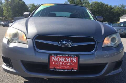 2009 Subaru Legacy for sale at Norm's Used Cars INC. in Wiscasset ME