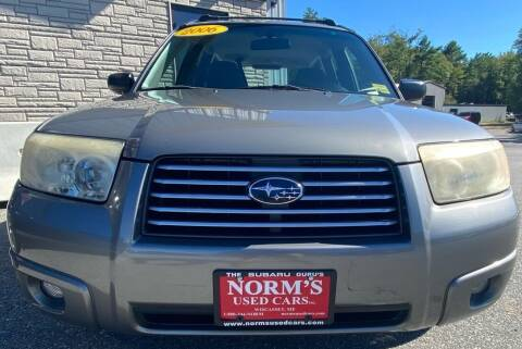 2006 Subaru Forester for sale at Norm's Used Cars INC. in Wiscasset ME