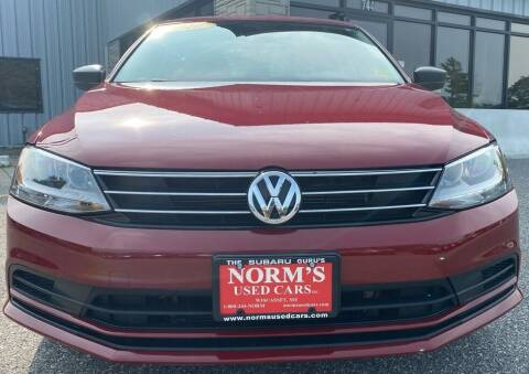 2016 Volkswagen Jetta for sale at Norm's Used Cars INC. in Wiscasset ME