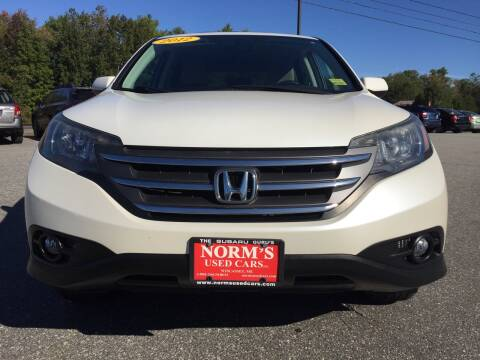 2012 Honda CR-V for sale at Norm's Used Cars INC. - Trucks By Norm's in Wiscasset ME