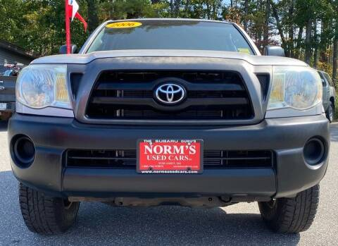 2006 Toyota Tacoma for sale at Norm's Used Cars INC. - Trucks By Norm's in Wiscasset ME