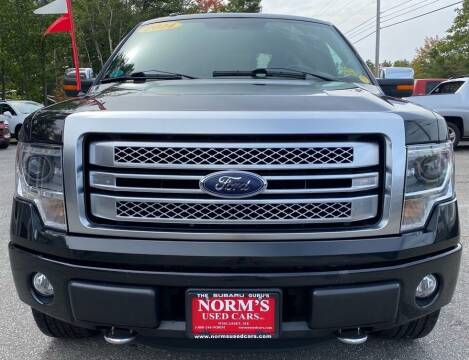 2014 Ford F-150 for sale at Norm's Used Cars INC. - Trucks By Norm's in Wiscasset ME