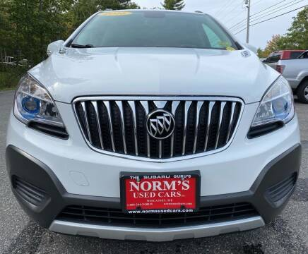 2016 Buick Encore for sale at Norm's Used Cars INC. - Trucks By Norm's in Wiscasset ME