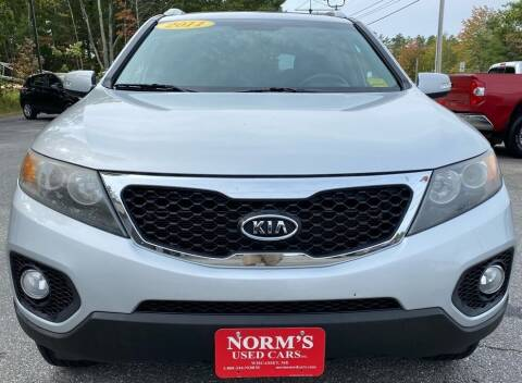 2011 Kia Sorento for sale at Norm's Used Cars INC. - Trucks By Norm's in Wiscasset ME