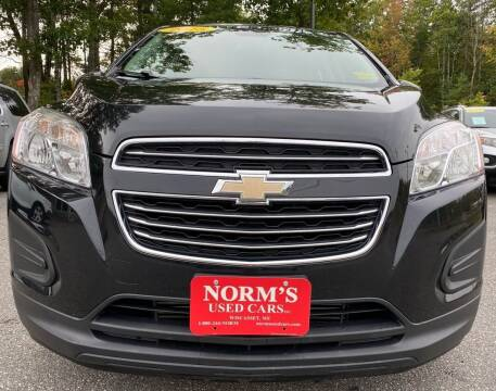 2015 Chevrolet Trax for sale at Norm's Used Cars INC. - Trucks By Norm's in Wiscasset ME