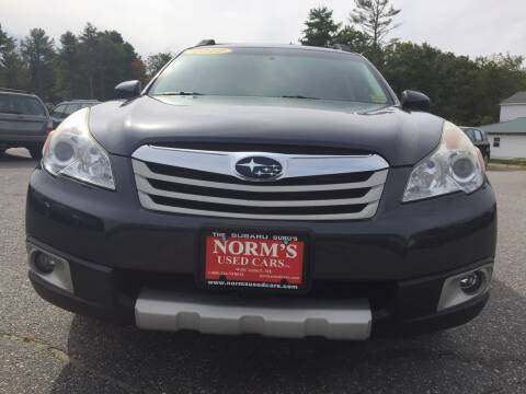 2012 Subaru Outback for sale at Norm's Used Cars INC. - Trucks By Norm's in Wiscasset ME