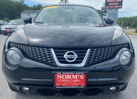 2013 Nissan JUKE for sale at Norm's Used Cars INC. - Trucks By Norm's in Wiscasset ME