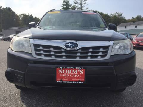 2011 Subaru Forester for sale at Norm's Used Cars INC. - Trucks By Norm's in Wiscasset ME