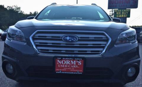 2017 Subaru Outback for sale at Norm's Used Cars INC. - Trucks By Norm's in Wiscasset ME