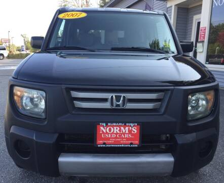 2007 Honda Element for sale at Norm's Used Cars INC. - Trucks By Norm's in Wiscasset ME