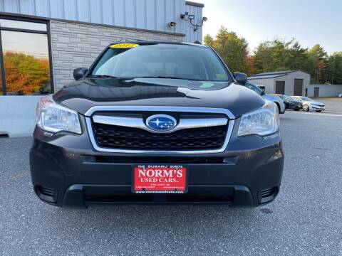 2015 Subaru Forester for sale at Norm's Used Cars INC. in Wiscasset ME