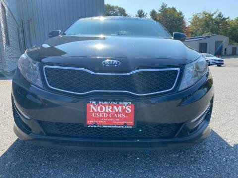 2013 Kia Optima for sale at Norm's Used Cars INC. in Wiscasset ME