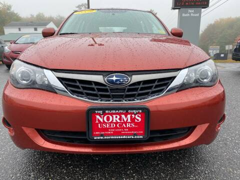 2009 Subaru Impreza for sale at Norm's Used Cars INC. in Wiscasset ME