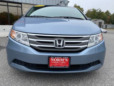 2012 Honda Odyssey for sale at Norm's Used Cars INC. in Wiscasset ME