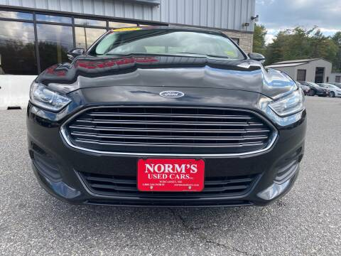 2014 Ford Fusion for sale at Norm's Used Cars INC. in Wiscasset ME