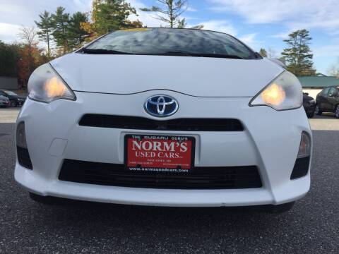 2012 Toyota Prius c for sale at Norm's Used Cars INC. in Wiscasset ME