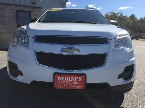2015 Chevrolet Equinox for sale at Norm's Used Cars INC. in Wiscasset ME
