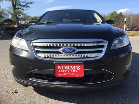 2011 Ford Taurus for sale at Norm's Used Cars INC. in Wiscasset ME
