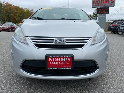2012 Ford Fiesta for sale at Norm's Used Cars INC. in Wiscasset ME