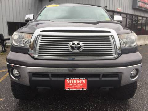 2011 Toyota Tundra for sale at Norm's Used Cars INC. in Wiscasset ME