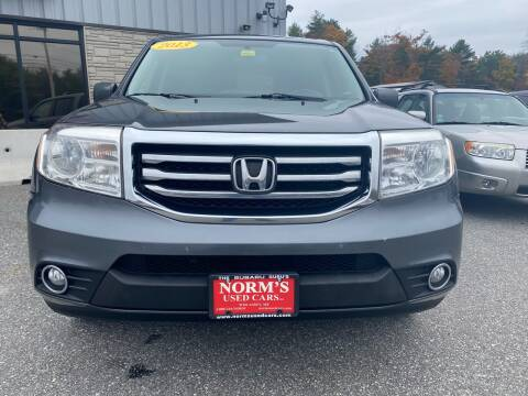 2013 Honda Pilot for sale at Norm's Used Cars INC. in Wiscasset ME