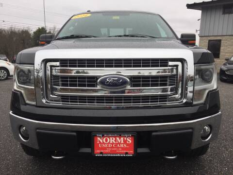 2014 Ford F-150 for sale at Norm's Used Cars INC. in Wiscasset ME
