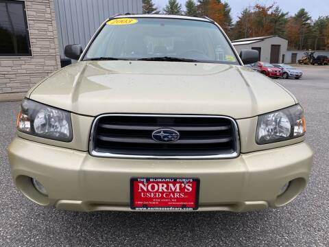 2003 Subaru Forester for sale at Norm's Used Cars INC. - Trucks By Norm's in Wiscasset ME