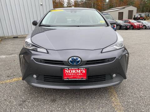 2019 Toyota Prius for sale at Norm's Used Cars INC. in Wiscasset ME