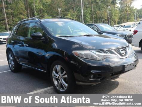 2012 Nissan Murano for sale at Carol Benner @ BMW of South Atlanta in Union City GA