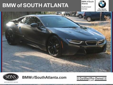 2019 BMW i8 for sale at Carol Benner @ BMW of South Atlanta in Union City GA