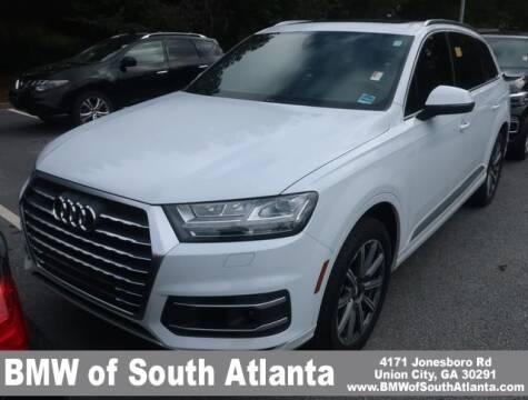 2017 Audi Q7 for sale at Carol Benner @ BMW of South Atlanta in Union City GA