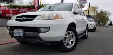 2002 Acura MDX for sale at Bay Auto Exchange in San Jose CA
